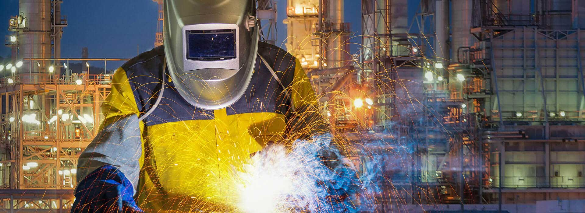 Geotex products makes welder's job safer